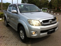 2012 TOYOTA HILUX DOUBLE CAB 3.0G (AT)