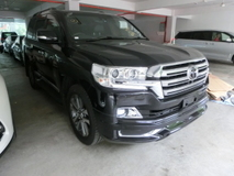 2016 TOYOTA LAND CRUISER 4.6 ZX All New Model Unreg INC GST
