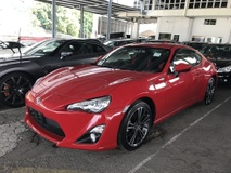 2013 TOYOTA FT-86 TOYOTA 86 NO GST NO SST 2.0 GT FT86 JAPAN 2013 UNREG FREE 1 YR WARRANTY