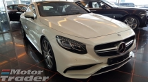 2015 MERCEDES-BENZ S-CLASS S63 COUPE 5.5 AMG COUPE V8 (A) FULLY LOADED OFFER