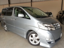 2007 TOYOTA ALPHARD 240S PRIME SELECTION II TYPE GOLD