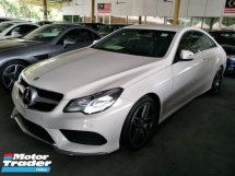 2014 MERCEDES-BENZ E-CLASS 2.0 AMG WHITE EDITION UK SPEC