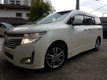 2012 NISSAN ELGRAND 250HIGHWAY STAR BLACK LEATHER EDITION