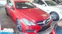 2014 MERCEDES-BENZ E-CLASS E200 COUPE AMG HI SPEC.0 SST.ORIGINAL AMG BODYKIT N RIM.TRUE YEAR CAN PROVE 14 UNREG.