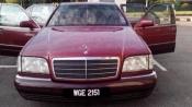 1993 MERCEDES-BENZ S-CLASS Mercedes Benz S320 Long Wheel Base LWB