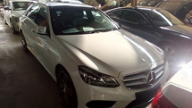 2014 MERCEDES-BENZ E-CLASS E200 AMG PRICE 0 SST.PANAROMIC ROOF.TRUE YEAR N CAN PROVE 14 UNREG.FREE WARRANTY N MANY GIFTS