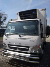 2017 MITSUBISHI FUSO CANTER LORRY, ARM ROLL, FREEZER, CHILLER, BOX VAN, WOODEN