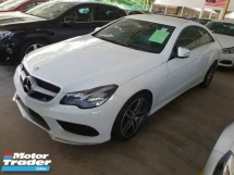 2014 MERCEDES-BENZ E-CLASS E200 Coupe AMG Spec 18