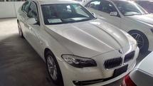 2011 BMW 5 SERIES 520i 2.0 TURBO