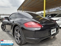 2007 PORSCHE CAYMAN S 3.4 (A) REG 2011 COUPE TIPTRONIC GOOD CONDITION CAREFUL OWNER PROMOTION PRICE \