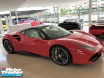 2016 FERRARI 488 GTB 3.9 V8 BI TURBO UNREG RAUNCHY RED COUPE UK