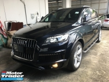 2014 AUDI Q7 Unreg Audi Q7 3000cc S LINE Turbo Diesel Power Boot 8Speed