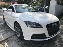 2014 AUDI TT 1.8 TURBO S LINE NEW UK UNREG