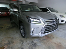 2016 LEXUS LX450 LX 450 4.5 Diesel Twin Turbo Unreg Sunroof Mark Levinson 4 Camera Rear Entertainment