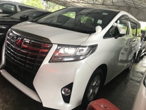 2015 TOYOTA ALPHARD 2.5 X 8 SEATERS NEW CAR 2015 JAPAN UNREG FREE GMR WARRANTY