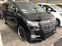 2015 TOYOTA ALPHARD 2.5 SA S A Unreg Roof Monitor Offer Offer No SST