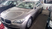 2011 BMW 7 SERIES 740 Li (A) SUNROOF JAPAN UNREG(INCLUSIVE GST AND AP FEE)