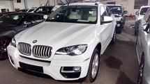 2014 BMW X6 40D DIESEL UK UNREG(INCLUSIVE GST AND AP FEE)
