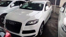 2013 AUDI Q7 3.0 (A) S LINE DIESEL UK UNREG (INCLUSIVE GST AND AP FEE)