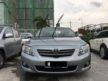2009 TOYOTA ALTIS 1.6 E (A) CCRIS AKPK CAN LOAN . BLACKLIST SAA NO DOCUMENT CAN LOAN . CTOS PTPTN CAN LOAN . FULL LOAN AVAILABLE .