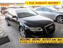 2006 AUDI A6 V6 2.4 (ACTUAL YR MADE 2006)(GST INCLU)(STOCK CLEARING)(NICE NUM 9699)(LOW MILE)