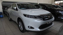 2016 TOYOTA HARRIER WHITE