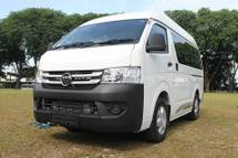 2017 FOTON VIEW WINDOW VAN