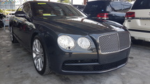 2015 BENTLEY FLYING SPUR 4.0L TWIN TURBO 2015 UNREGISTER 2015