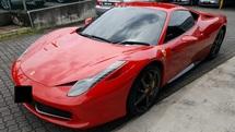 2010 FERRARI 458 4.5 italia (a) offer