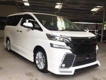2016 TOYOTA VELLFIRE 2.5 Z SUNROOF. FULL BODYKIT. MANY UNITS TO CHOOSE