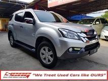 2015 ISUZU MU 2.5 (A) 4X4 Diesel MUX UWarranty