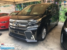 2015 TOYOTA VELLFIRE 2.5 ZA 7Seats 360View Cam PowerBoot 7G
