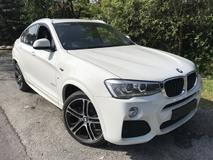 2015 BMW X4 2.0 X DRIVE M SPORT UK NEW UNREGISTER