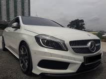 2012 MERCEDES-BENZ A250 AMG SPORT EDITION
