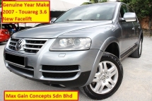 2007 VOLKSWAGEN TOUAREG 3.6 V6 FSI (A) (Ori Year 2007)(New Facelift Model)(Full Service Records)