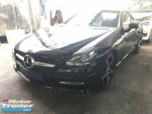 2014 MERCEDES-BENZ SLK 200 1.8 turbo engine convertable top 7G
