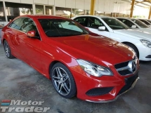 2014 MERCEDES-BENZ E-CLASS E200 Coupe AMG Spec Local AP Unreg