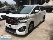 2016 TOYOTA ALPHARD 3.5 VL HOME THEATER JBL 4 CAMERA PILOT 7SEATHER SUN ROOF 7G