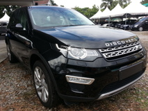 2016 LAND ROVER DISCOVERY SPORT SUV 7 SEATER LUXURY HSE SI4 UNREG EVOQUE