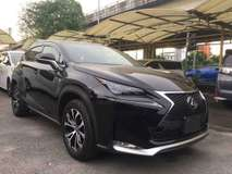 2015 LEXUS NX NX200T F SPORT SROOF LEATHER UNREG