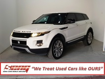 2013 LAND ROVER RANGE ROVER Evoque 2.0 Local Si4Dynamic
