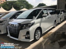 2016 TOYOTA ALPHARD Unreg Toyota Alphard 2.5 S 360 View 7seather 360 View Cam Power Boot 7G