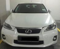 2012 LEXUS CT200H LUXURY