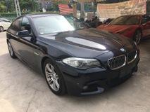2013 BMW 5 SERIES 520I M SPORT JAPAN 2.0 TWIN POWER TURBO YR 2013