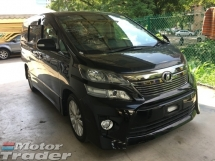 2014 TOYOTA VELLFIRE Unreg Toyota Vellfire 2.4 Z 7seather 2PD camera Push Start