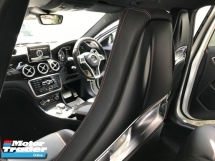 2015 MERCEDES-BENZ GLA 45 2.0 4MATIC AMG EDITION 1 UNREG SHADOW WHITE