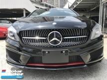 2014 MERCEDES-BENZ A250 2.0 AMG SPORT UNREG SPLENDID BLACK HOT HATCHBACK