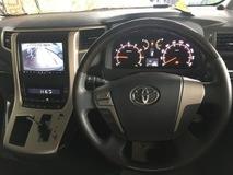 2013 TOYOTA VELLFIRE Unreg Toyota Vellfire 2.4 Golden eye 7seather cam
