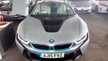 2015 BMW I8 1.5 Hybrid ZERO GST Unregister