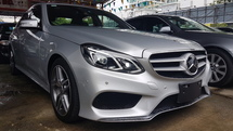2013 MERCEDES-BENZ E-CLASS E250 AMG 2.0L (UNREG) JAPAN SPEC 2013